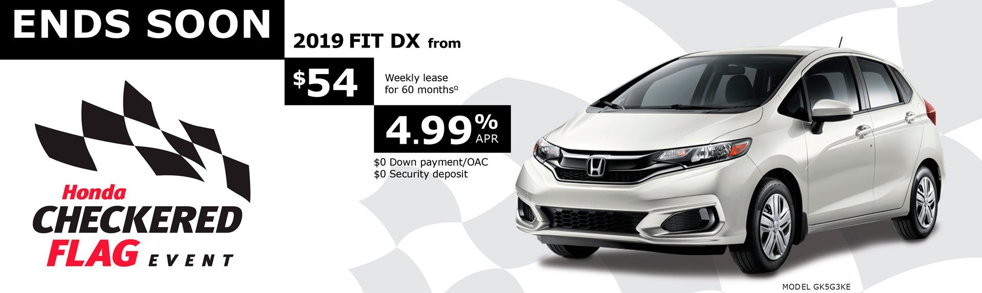 Lease the 2019 Fit DX